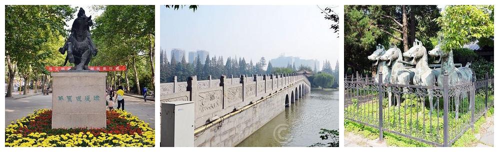 金秋游记之合肥古逍遥津公园