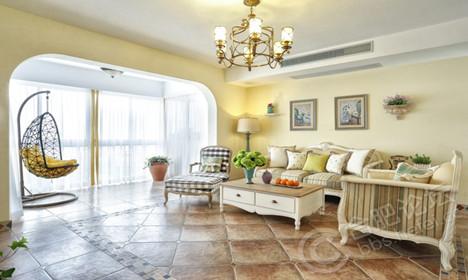 清新地中海 浪漫主义的大户型家居搭配
